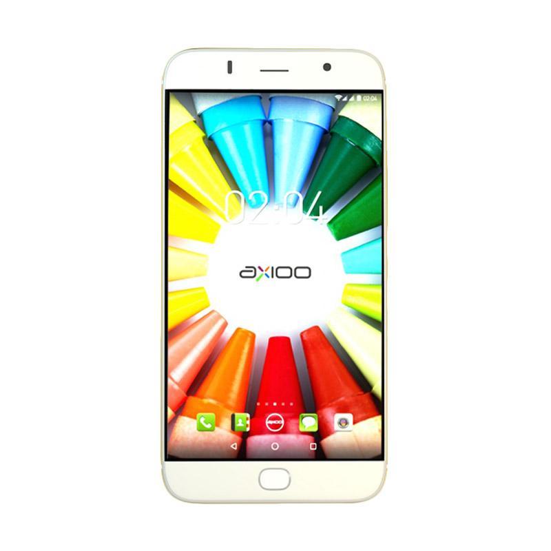 Axioo Picophone M5 Smartphone - Silver [8GB/ 1GB]