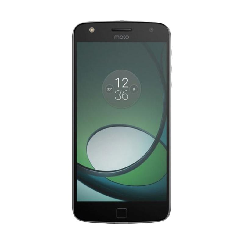 Moto Z Play Smartphone - Black [32GB/3GB/Garansi Resmi]