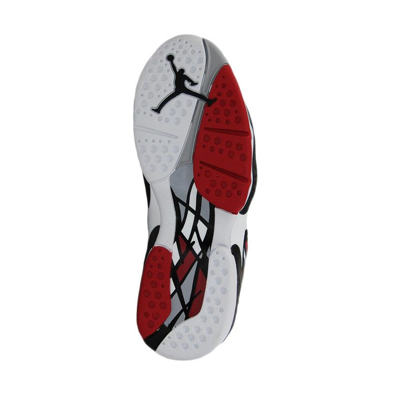 nike air jordan 8 retro sepatu basket putih 6653a2f5a2