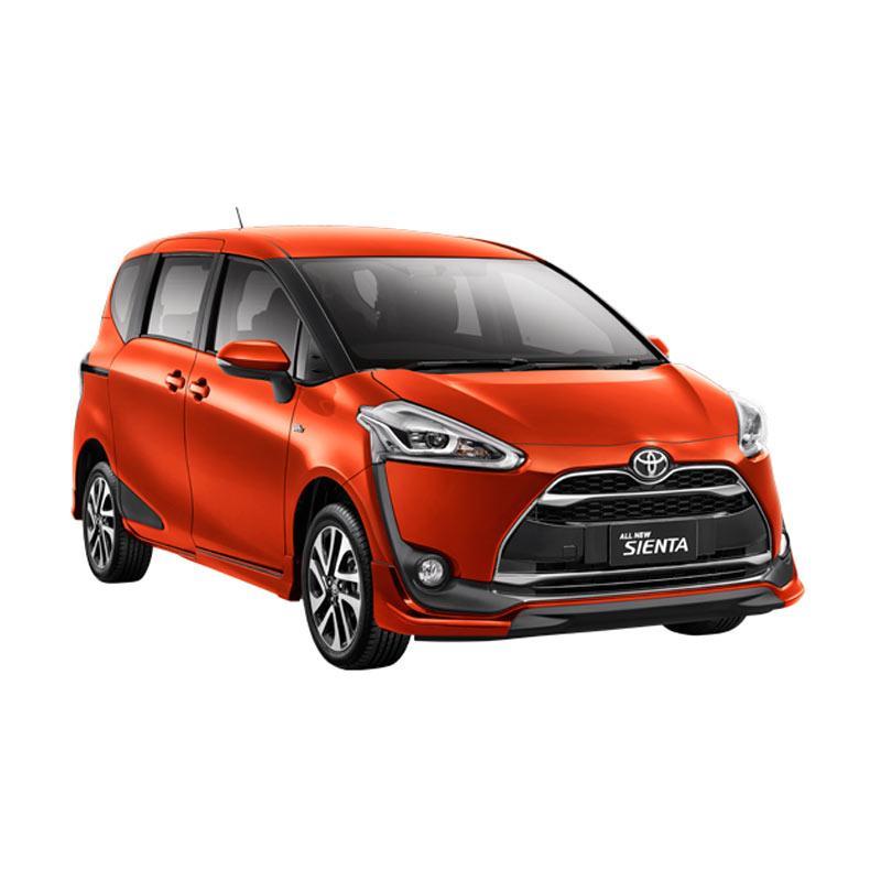 Toyota Sienta 1.5 Q A-T Mobil - Orange Metallic Extra diskon 7% setiap hari Extra diskon 5% setiap hari Citibank – lebih hemat 10%