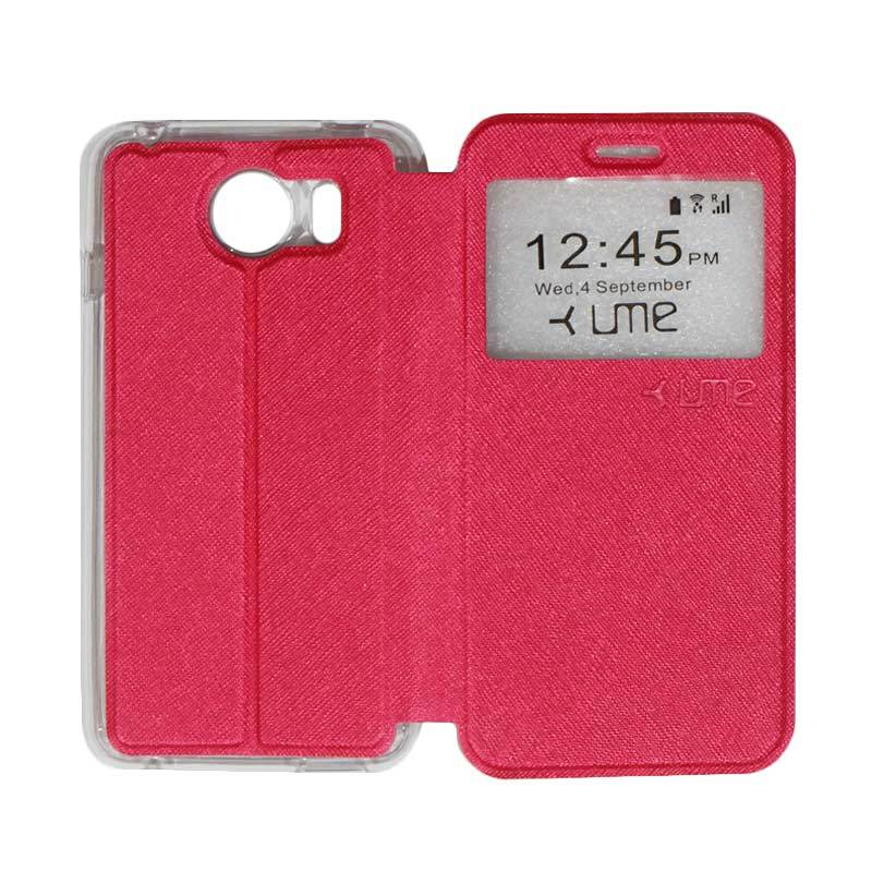 UME Himax M1 Flip Cover / Flipshell / Leather Case / Sarung HP Himax M1 /