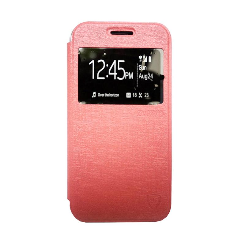 Zagbox Flip Cover Casing for Samsung Galaxy J710 2016 - Pink