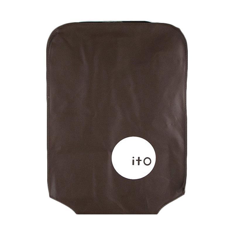 28fashion ITO Luggage Cover Pelindung Koper - Coklat [20 Inch]