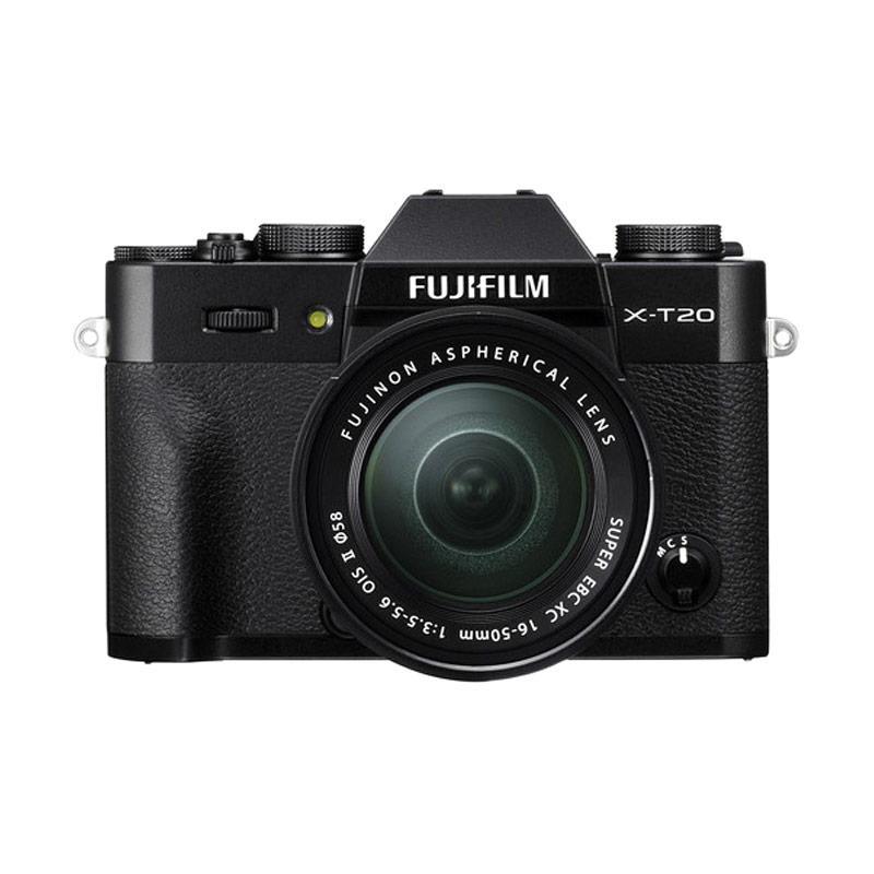 harga Fujifilm X-T20 16-50mm Kamera Mirrorless - Black + Instax Share SP2 + Baterai NPW-126S (BY CLAIM) Blibli.com