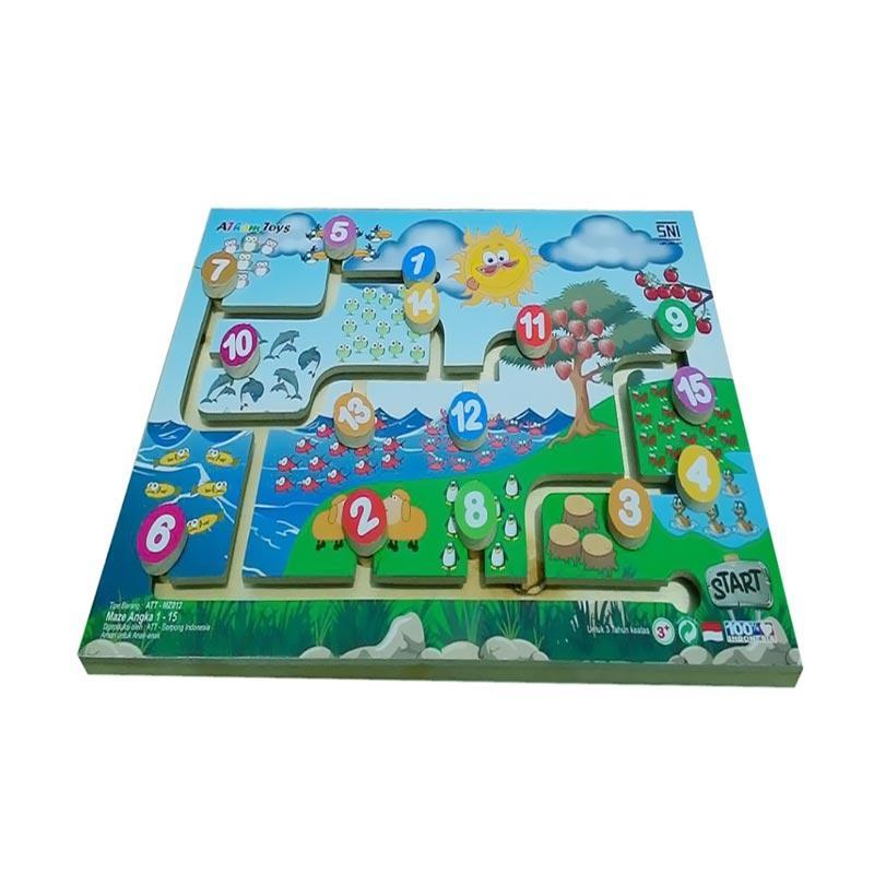 Istana Bintang Maze Angka Mainan Anak
