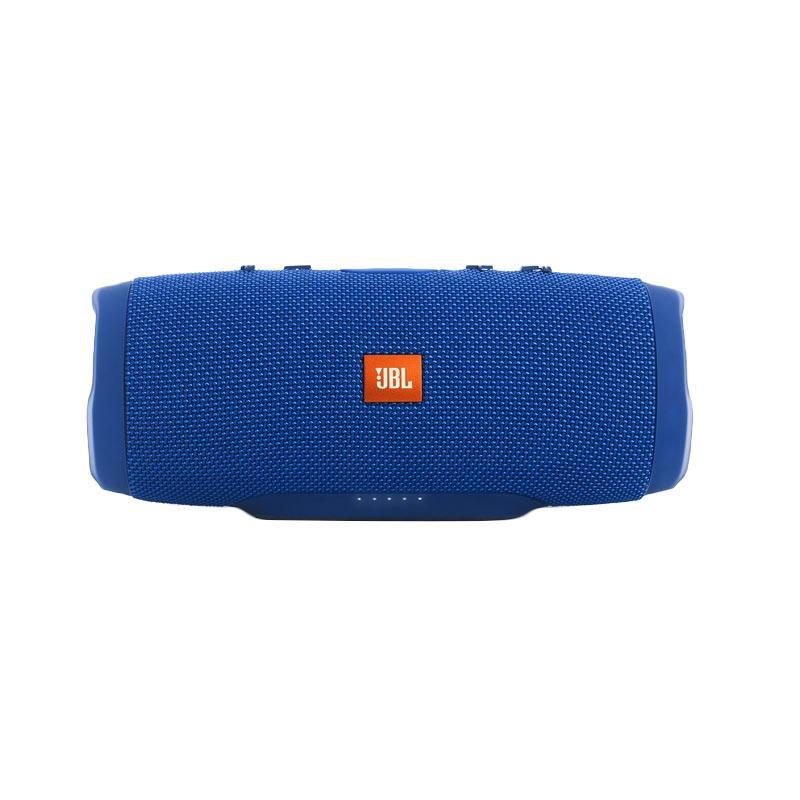 JBL Charge 3 Waterproof Bluetooth Speaker - Biru