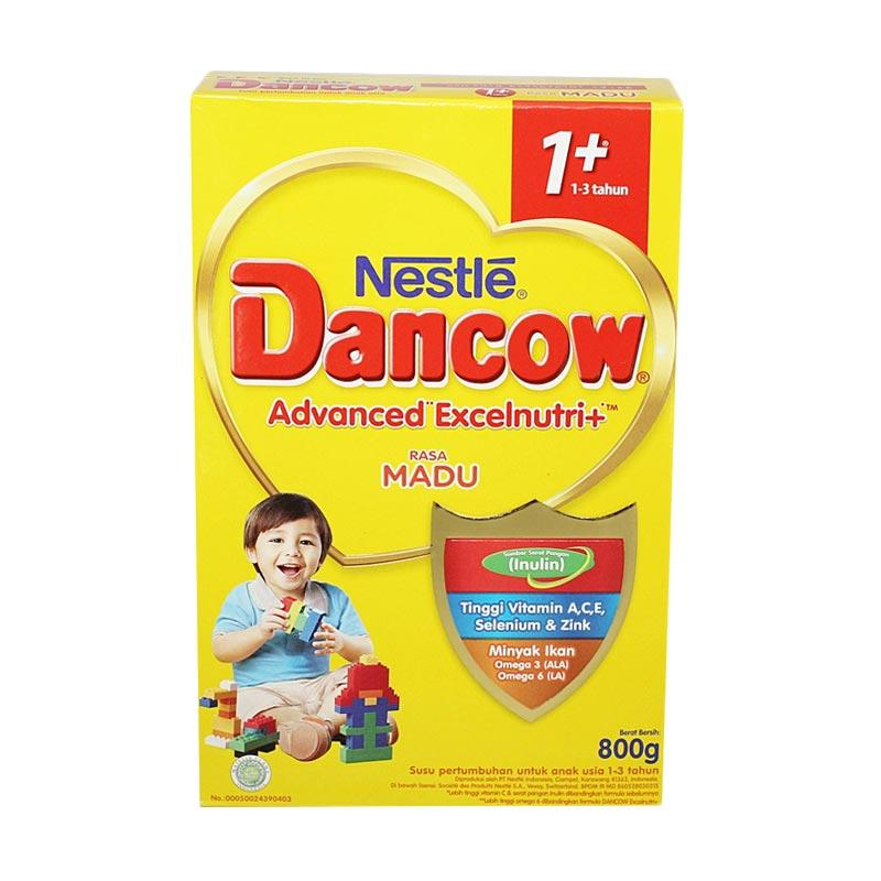 Nestle Dancow 1+ Advenced Excelnutri Madu Susu Pertumbuhan [6 Box/@800 g]