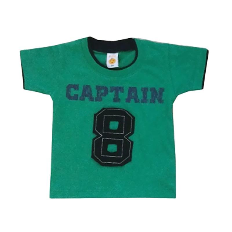 PLEU Ts-Captain Short Sleeve T-shirt - Green