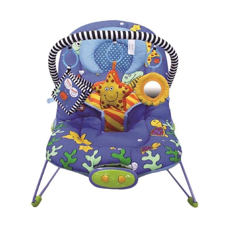 Pumpee Adjustable Ocean World Baby Bouncer Tempat Duduk Bayi