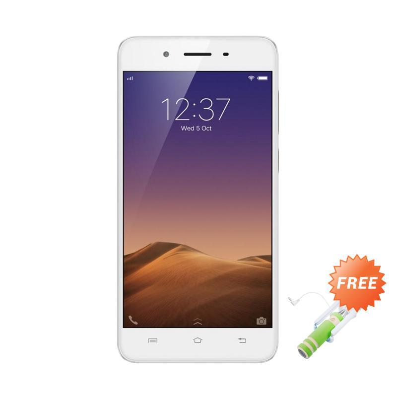 VIVO Y55 Smartphone - Gold [16 GB/2 GB] + Free Tongsis