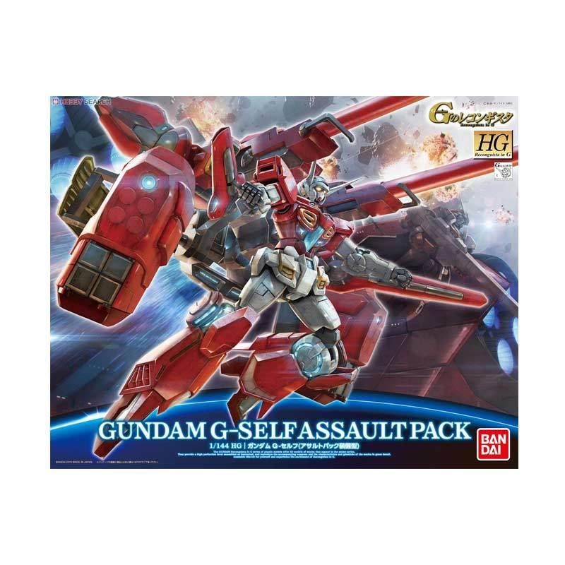 Bandai HGRG Gundam G-Self Assault Pack Model Kit [1:144]