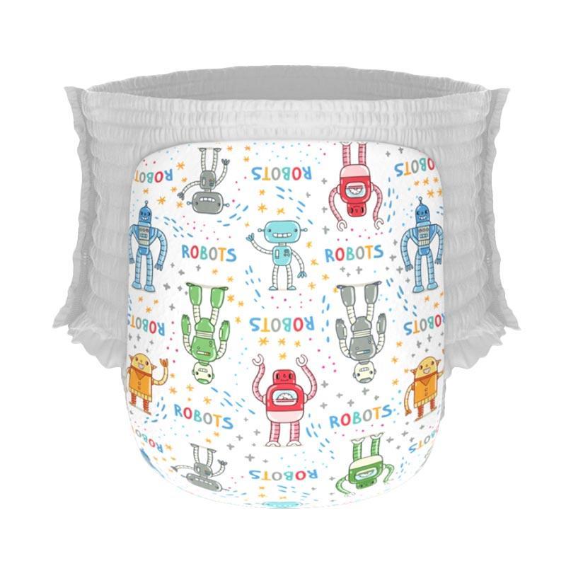 Happy Diapers Pant Popok Bayi - Robots [Size L/26 pcs/A13]