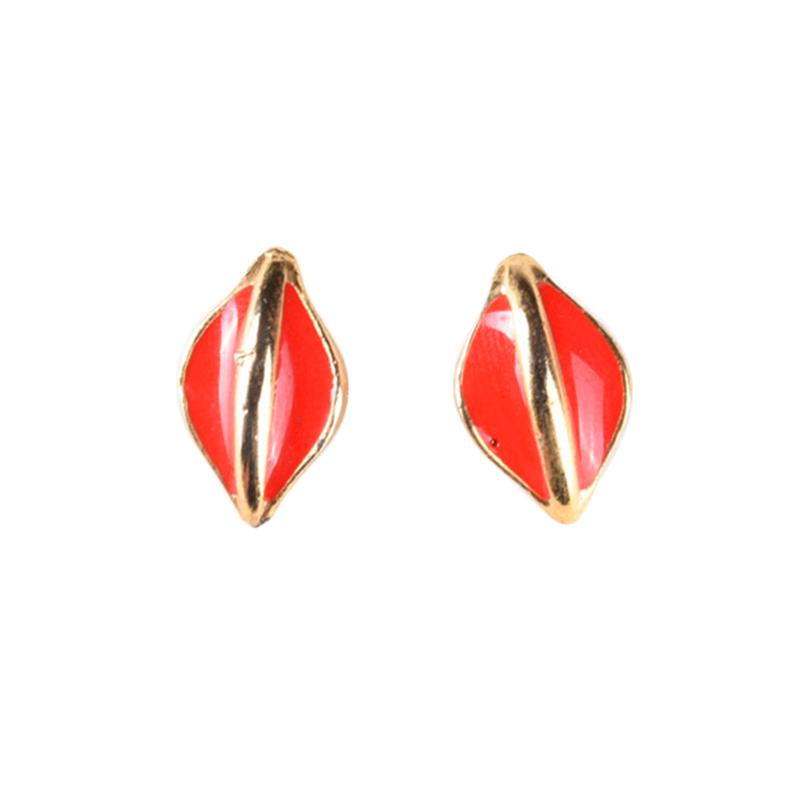 1901 Jewelry Atala Earring GW.4609.HR52 Anting - Red