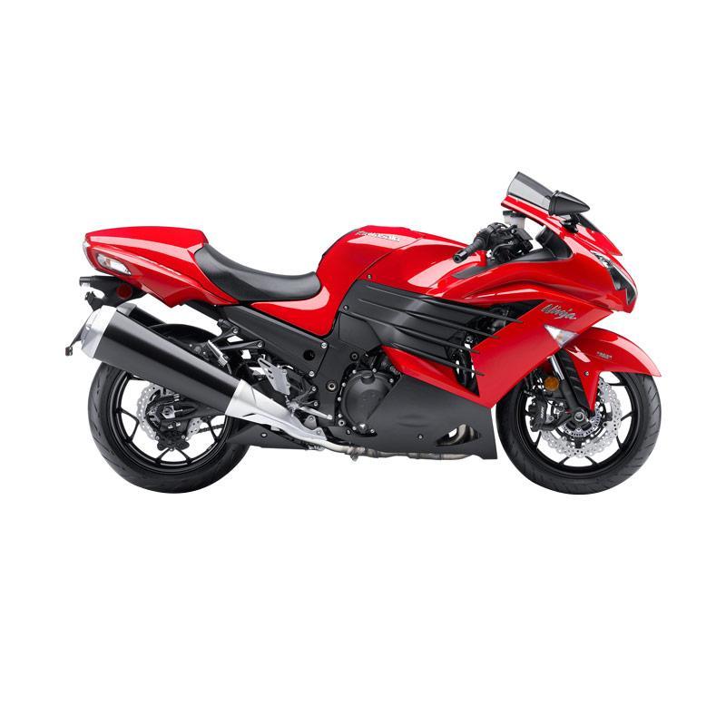 harga Kawasaki Ninja ZX-14R Sepeda Motor - Red [VIN 2013] Blibli.com
