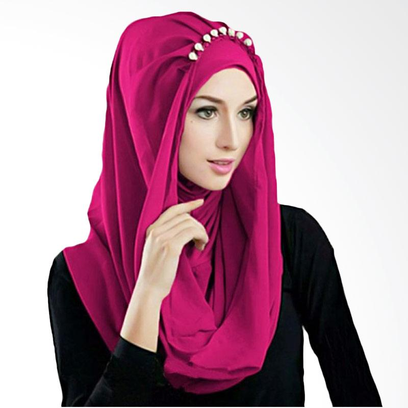 Kus Group Hijab Deeja Pearly Bergo - Fanta