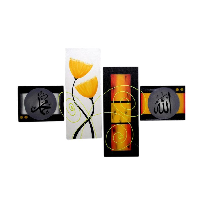 Jual Lukisanku SS3310 Lukisan Kaligrafi Bunga Online - Harga & Kualitas Terjamin | Blibli.com