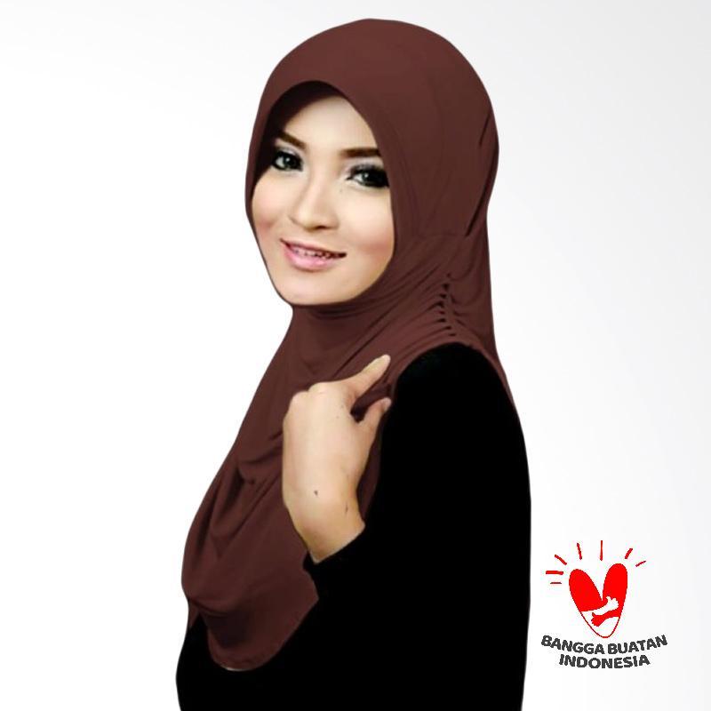 Milyarda Hijab Instant Rumana - Brown