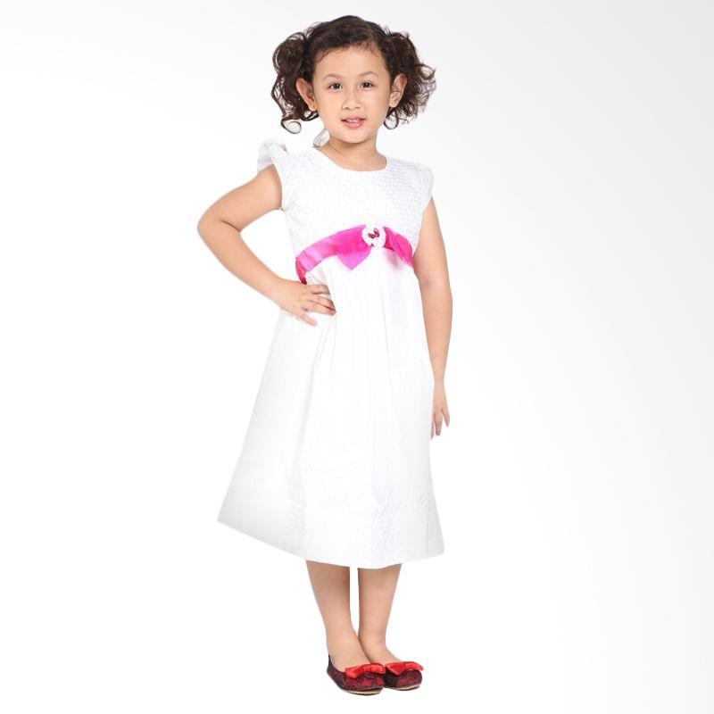Pretty Girl 3NAJWA Dress Anak - White