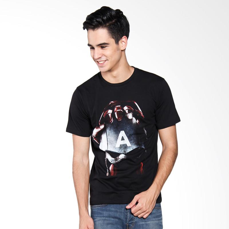 Bafash Superhero Captain America T-Shirt Pria