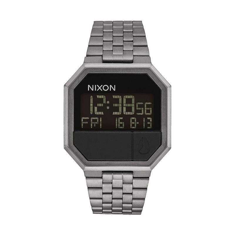 Nixon ReRun Digital Jam Tangan Pria A158632 - Grey