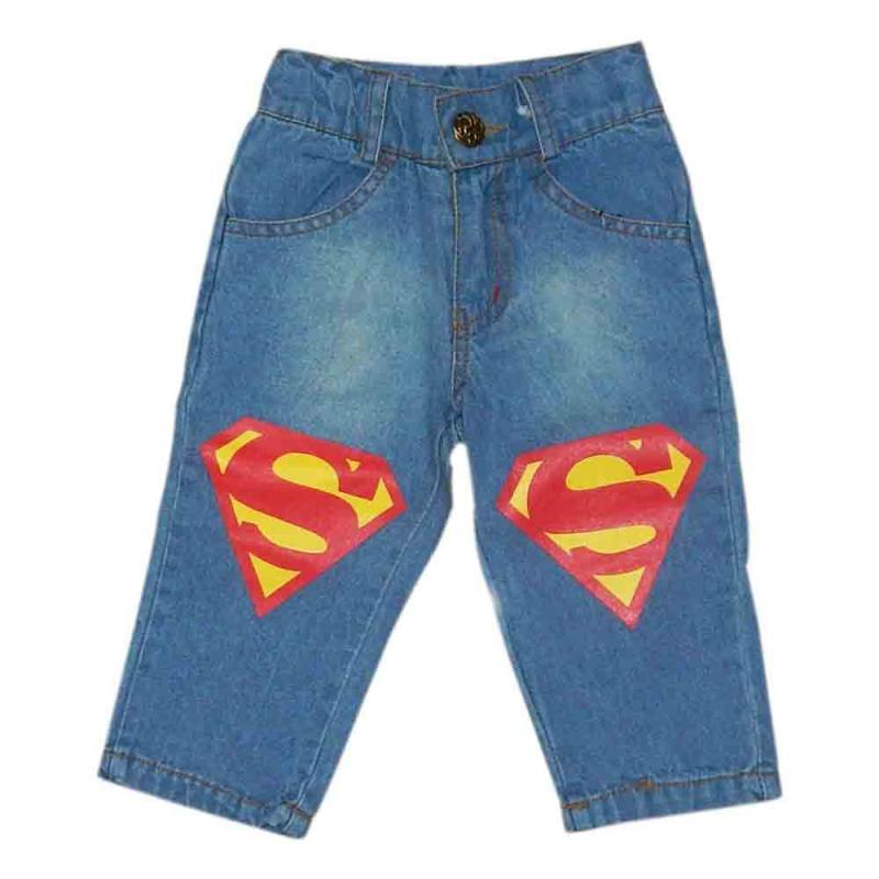 Wonderland Jeans Panjang Anak Superman Celana Anak