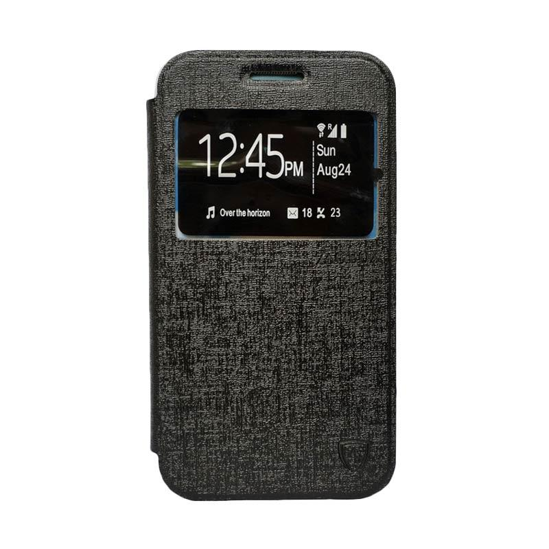 ZAGBOX Flip Cover Casing for Samsung Galaxy S7 - Hitam