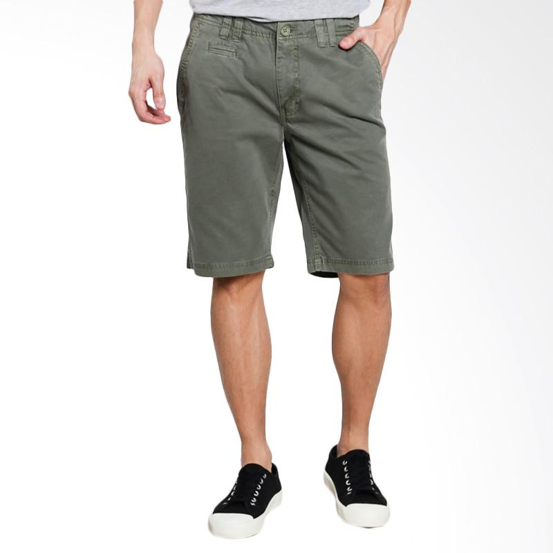 Greenlight Men Relaxed Pants - Green