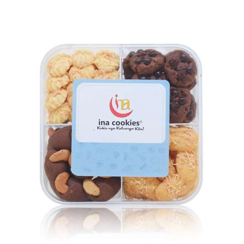 Jual Ina Cookies Kombinasi Manis Kue Kering Lebaran Enak Halal Tokoshobi Online April 2021 Blibli