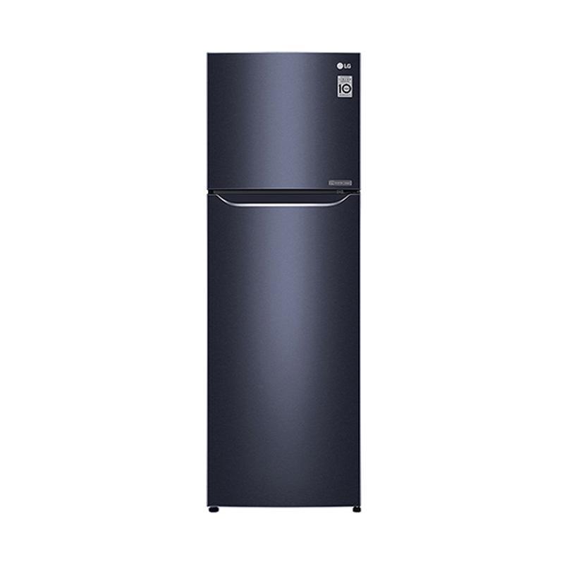 LG GN C372SQCN Kulkas 2 Pintu - Black Purple [333 L]