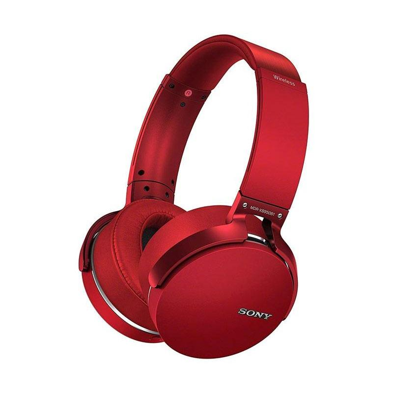 SONY MDR-XB950B1 Extra Bass Bluetooth Headphones - Red
