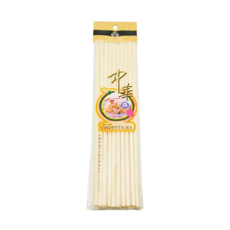 HAN Sumpit Melamine - Beige [24cm/ 10 Pasang/3 Pcs]