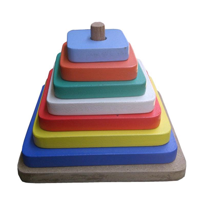 Istana Bintang Color Tower Kotak Mainan Edukasi