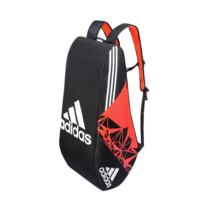 adidas Wutch P7 12 Thermo Bag Tas Badminton - Orange Black