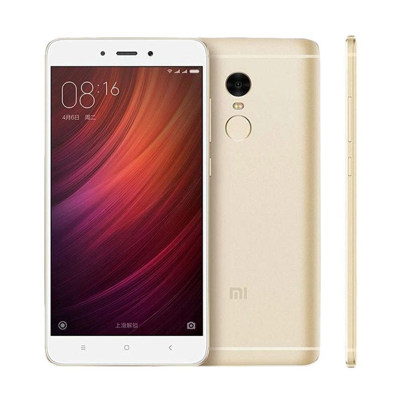 Xiaomi RedmiNote 4 Smartphone - Gold [32GB/3GB/Garansi Resmi TAM]