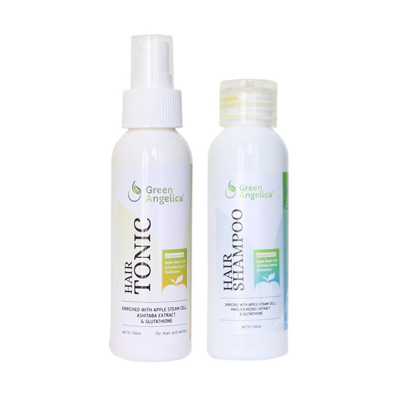 Brand: Green Angelica. obat penumbuh rambut, shampo penumbuh rambut, shampo anti ketombe best seller, vitamin rambut