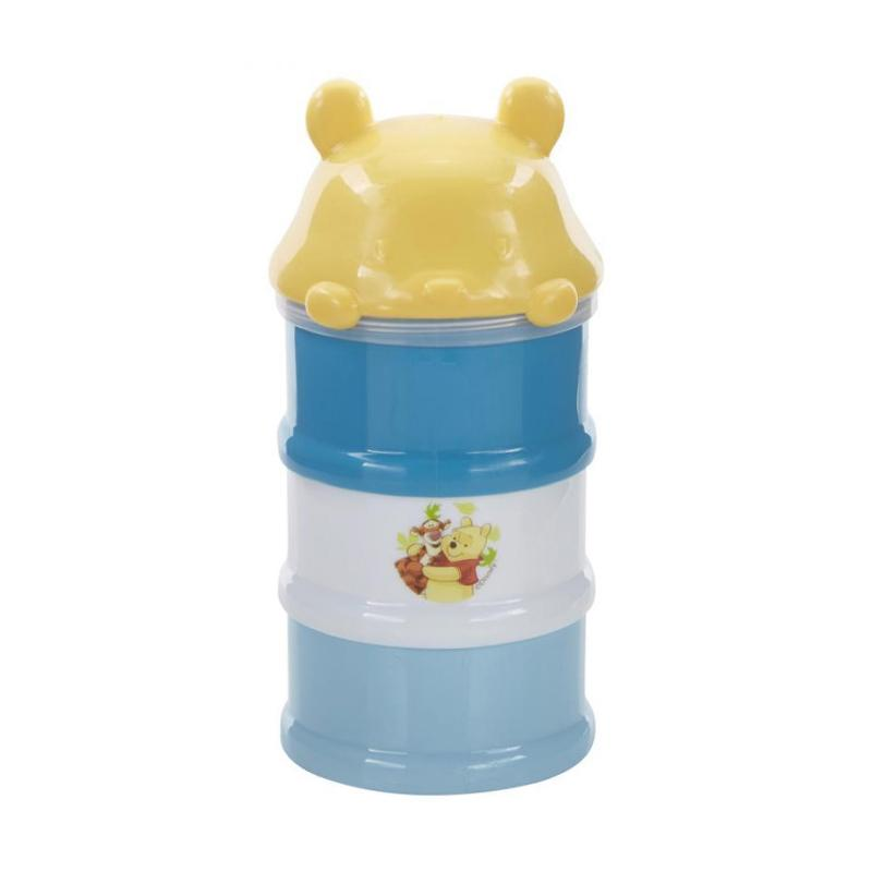 Kiddy Baby Milk Powder Container 3 Stage Pooh - Biru