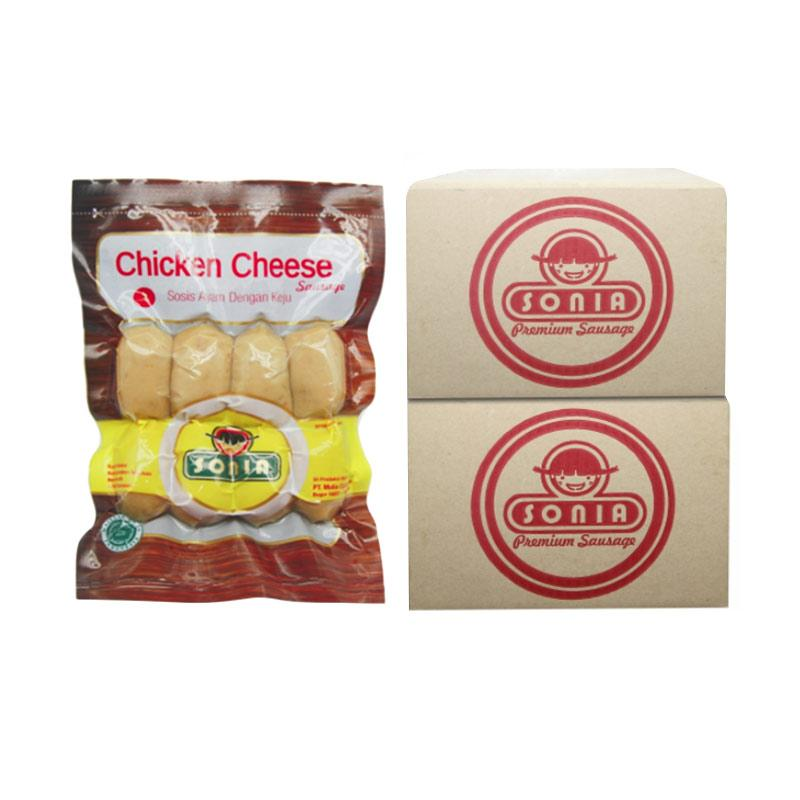SONIA Sosis Chicken Cheese 28/25 [1 BOX]