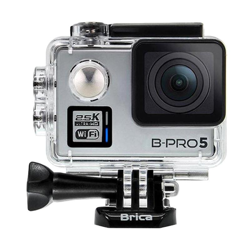 Brica B-PRO 5 Alpha Plus Version 2 AP2 Combo Attanta Extreme Action Camera - Silver