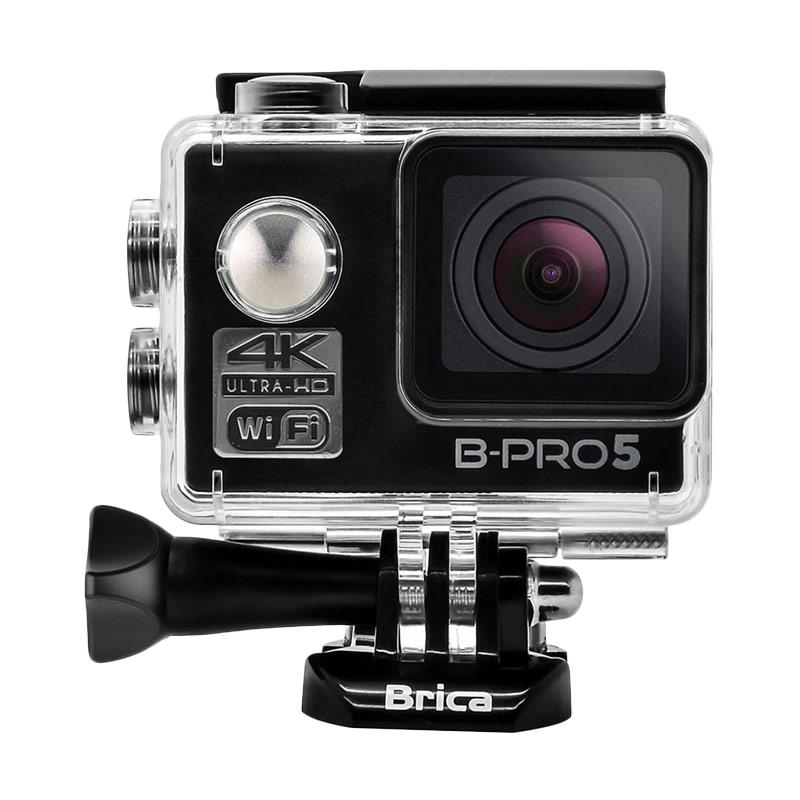 Brica B-PRO 5 Alpha Edition Mark II AE2 Combo Attanta Supreme Paket Action Camera - Hitam