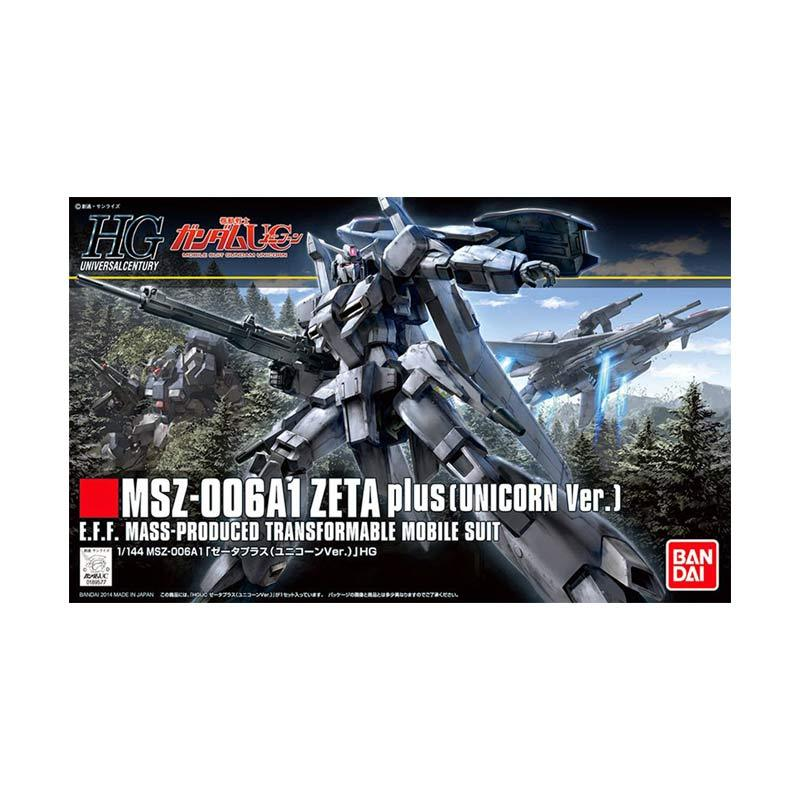 Bandai HGUC MSZ-006A1 Zeta Plus Unicorn Ver Model Kit [1 : 144]