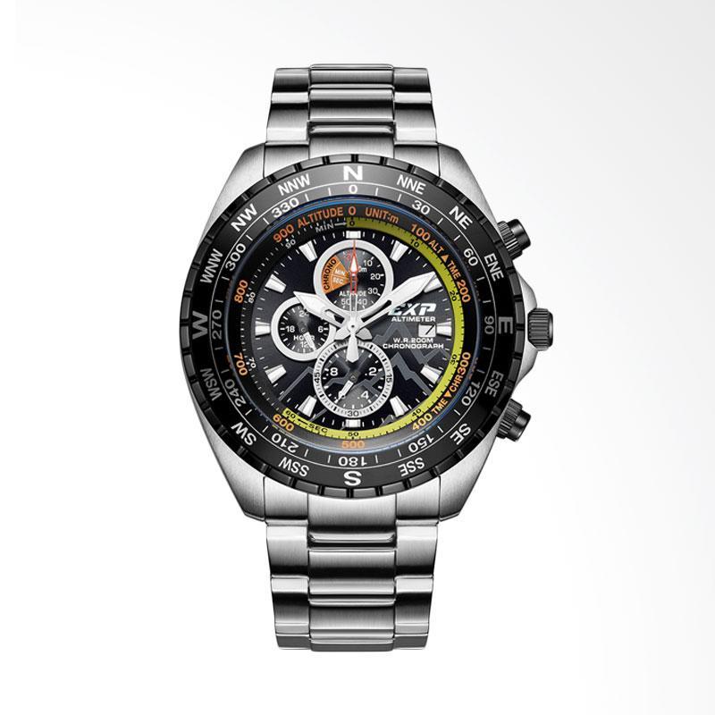 Expedition Altimeter Chronograph Jam Tangan Pria - Silver EXP6739MCBTBBA