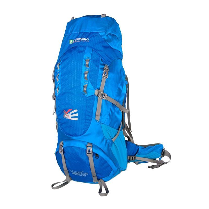 Consina Expedition Tas Carrier - Biru [80 L]