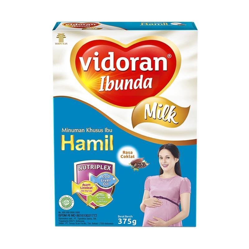 Vidoran Ibunda Nutriplex Susu Rasa Coklat [375 g]