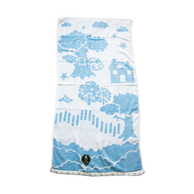 Dixon Lovely Garden House 7067 Handuk Sport - Blue [35 x 80 cm]
