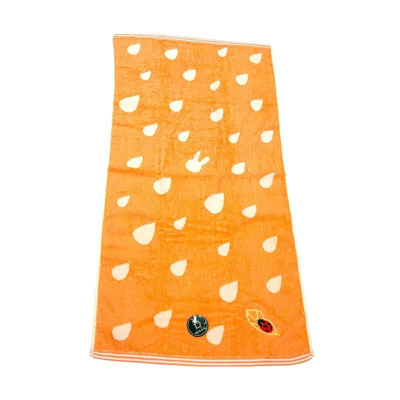 Dixon Lady Bug Embroidery 7086 Handuk Sport - Orange [35 x 80 cm]