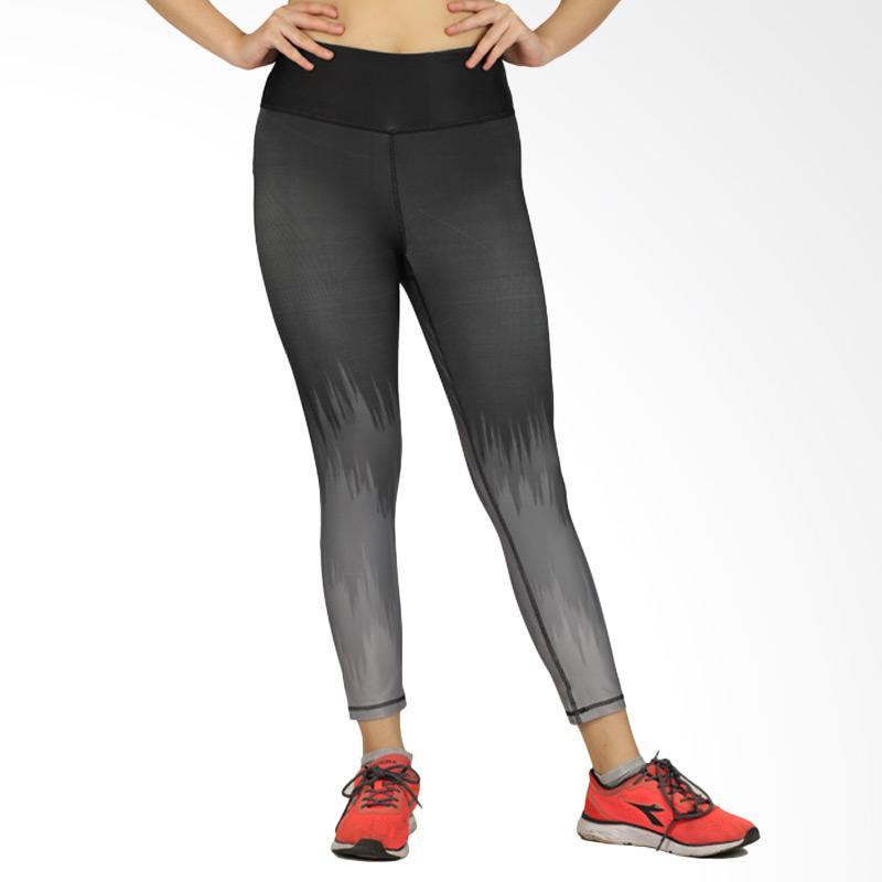 RBX Silu FR 7/8 Capri Celana Olahraga Wanita - Black Silver [08RB0001]