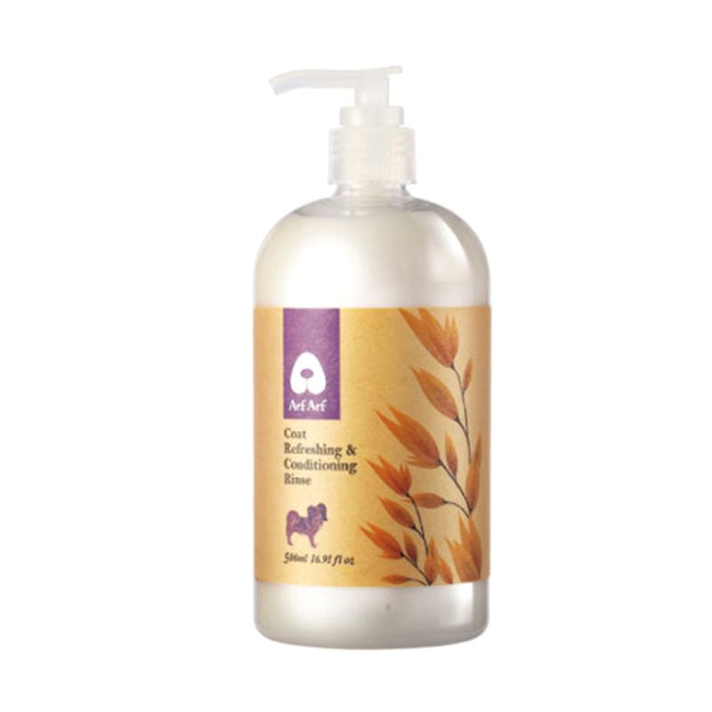 Arf Arf Coat Refreshing & Conditioning Rinse Dog Cat Natural Oatmeal Conditioner Hewan