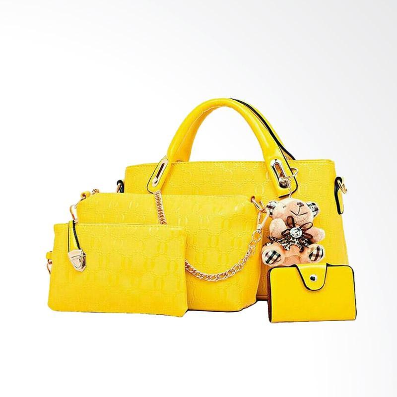 IMF Handbag Best Quality 4in1 Tas wanita - Navy