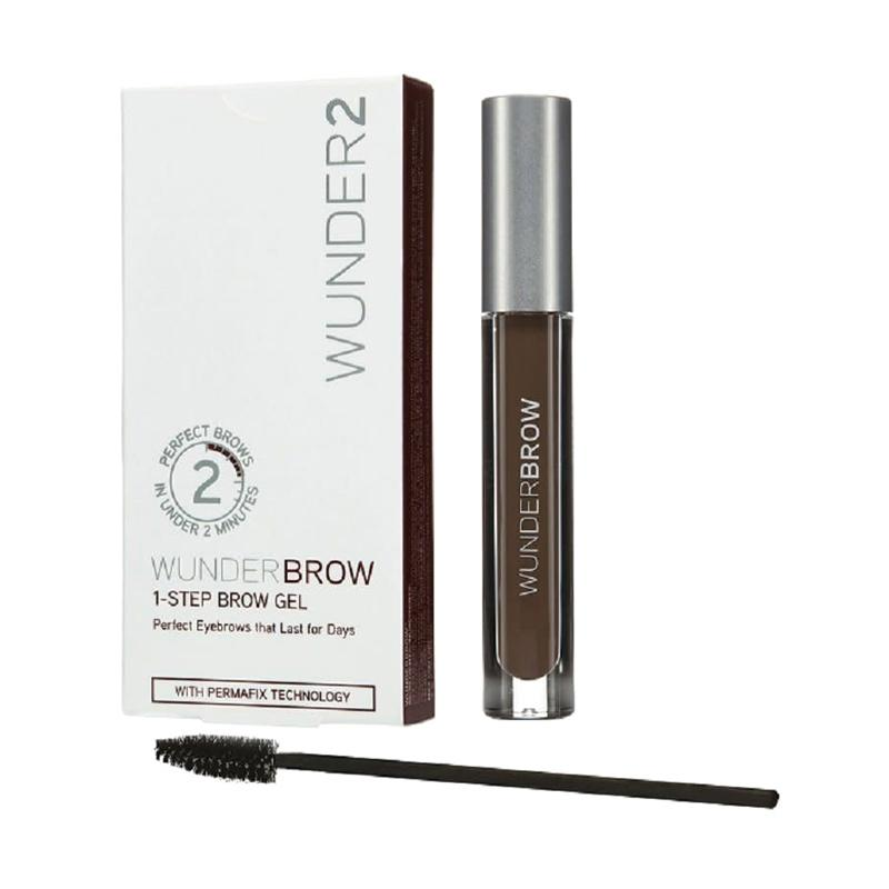 Wunder2 Wunderbrow Gel Perfect Eyebrows in 2 Mins Eyebrow - Black Brown
