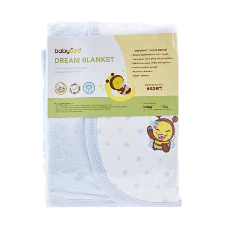 Babybee Dream Blanket - Blue Star